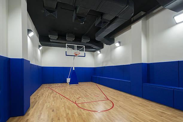 Basketball Gymnasium Court – Foto