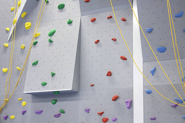 Indoor-Kletterwand mit Griff – Foto