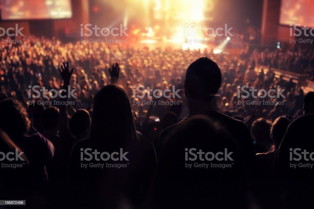 Indoor Concert royalty-free stock photo