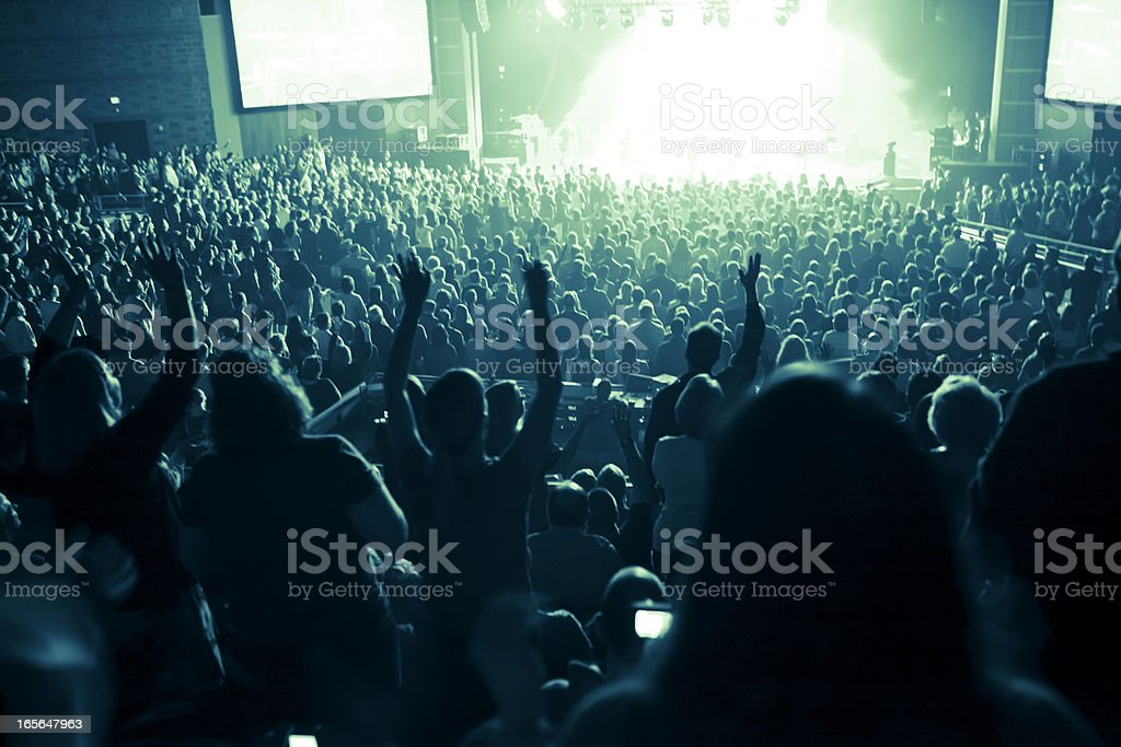 Indoor Concert stock photo