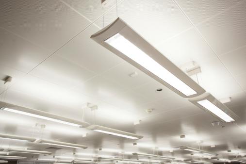 Indoor lighting.