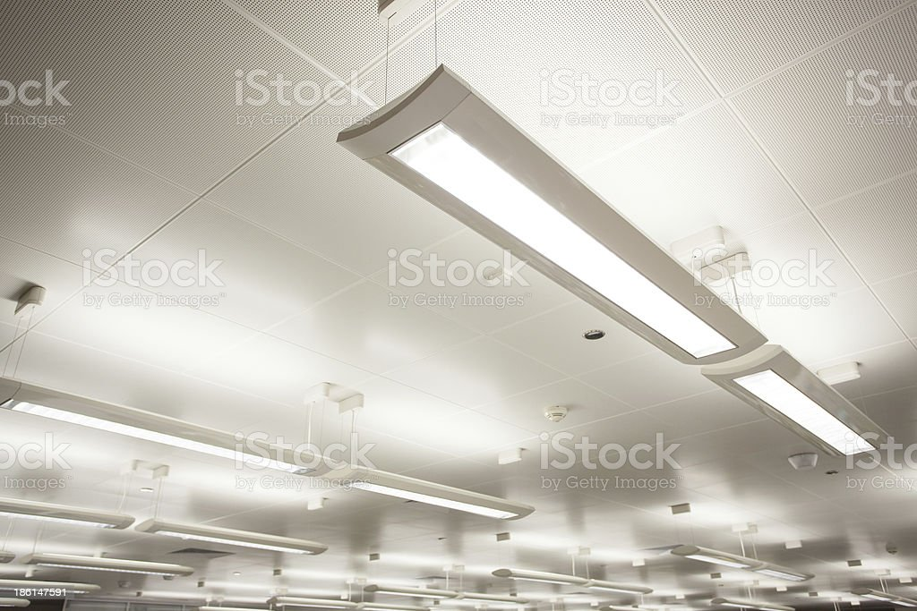 Indoor lighting stock photo