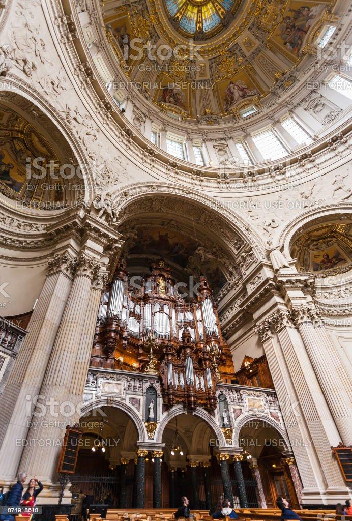 Innenbereich des Berliner Doms (Berliner Dom) – Foto