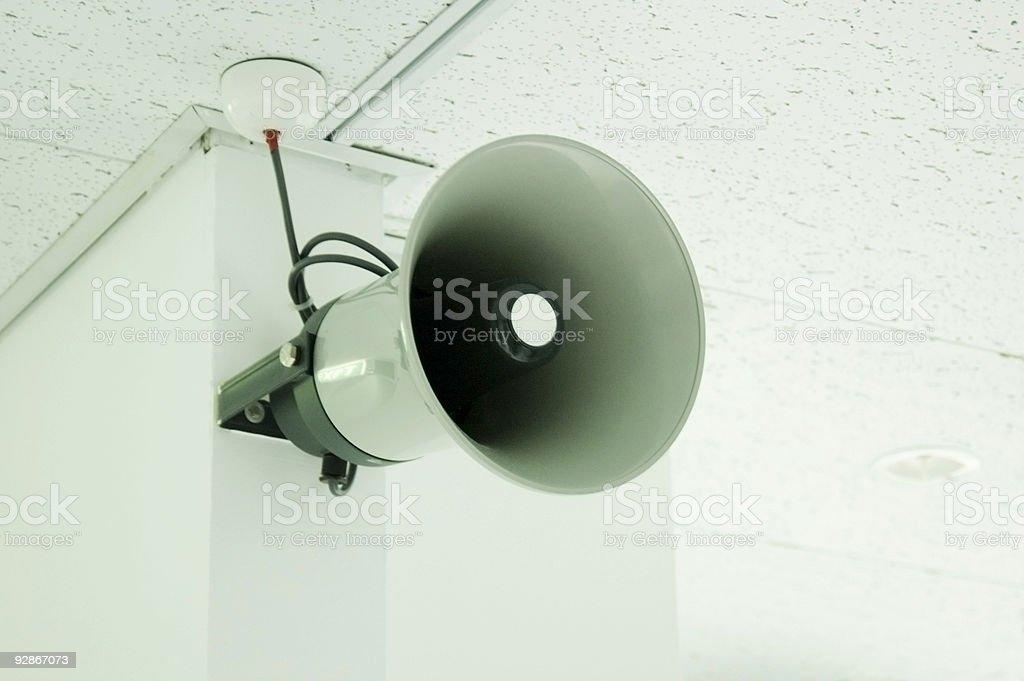 Indoor PA stock photo
