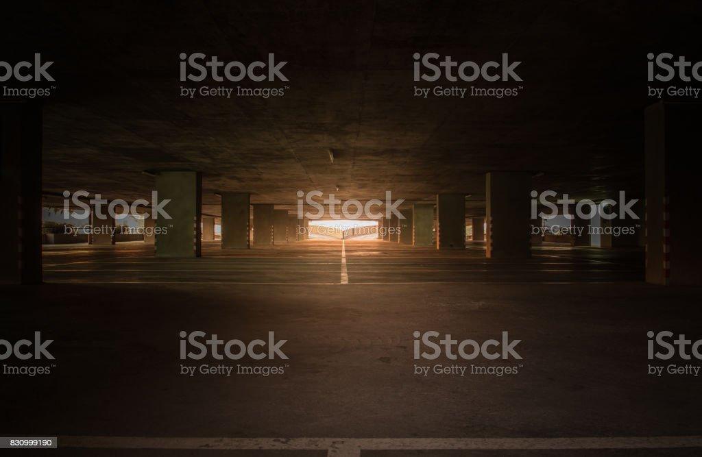 Garagem coberta - foto de acervo