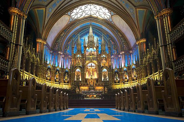 Cattedrale di Notre-Dame, Montreal) - foto stock