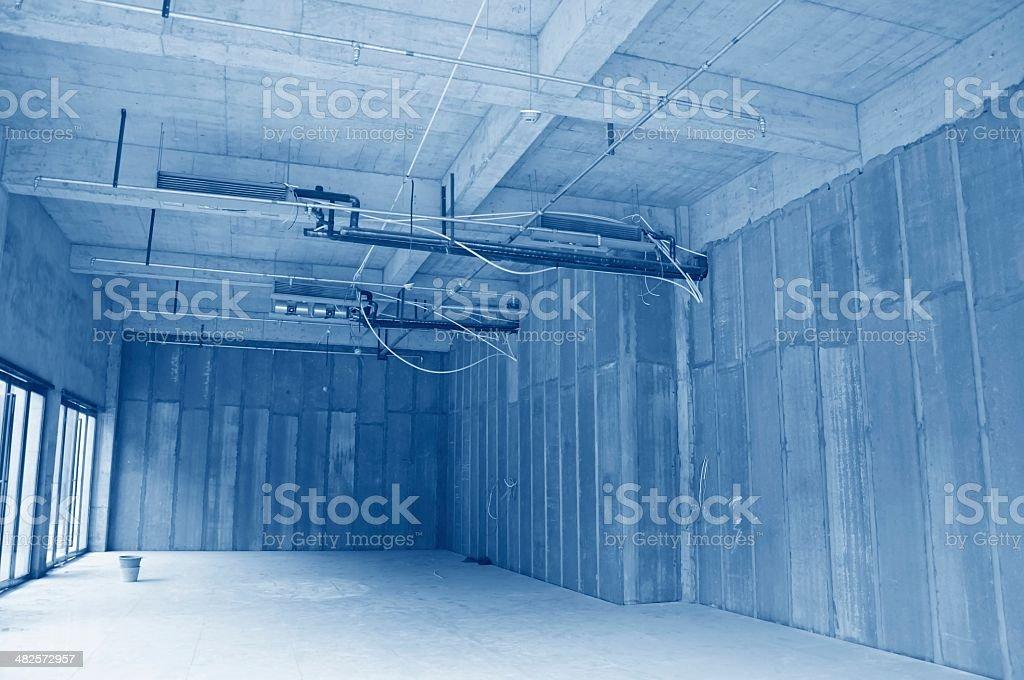 Indoor pipeline stock photo