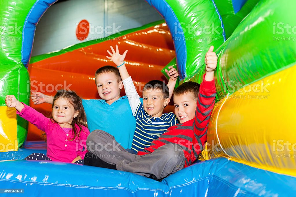 Indoor playground stock photo