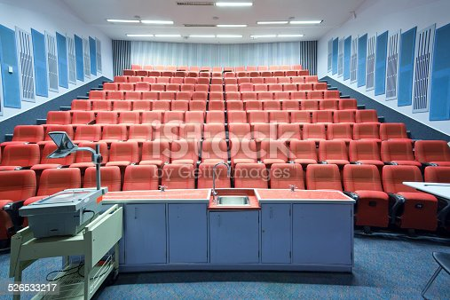 Indoor seating in the school conference room