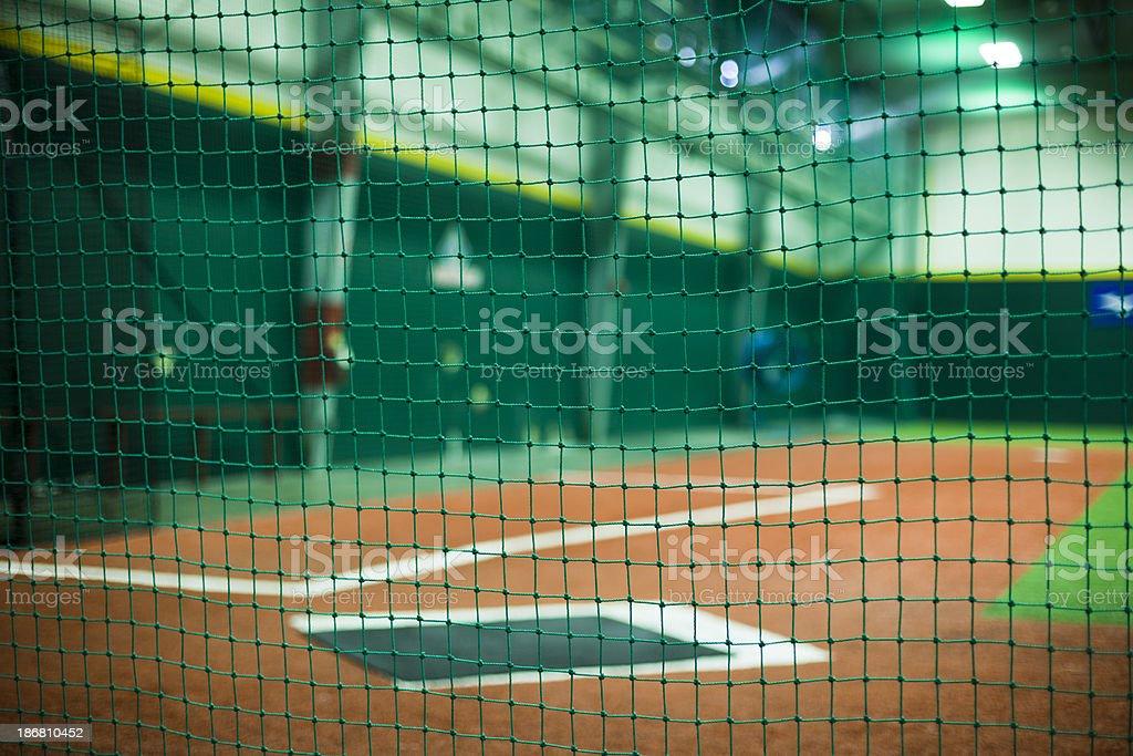 Indoors Baseball stock photo
