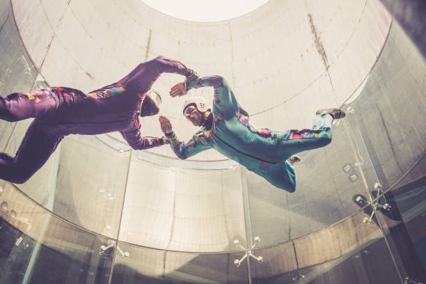 63 Indoor Skydiving Stock Photos, Pictures & Royalty-Free Images - iStock
