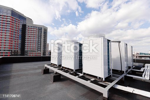istock industrial air conditioning on the roof 1141709741