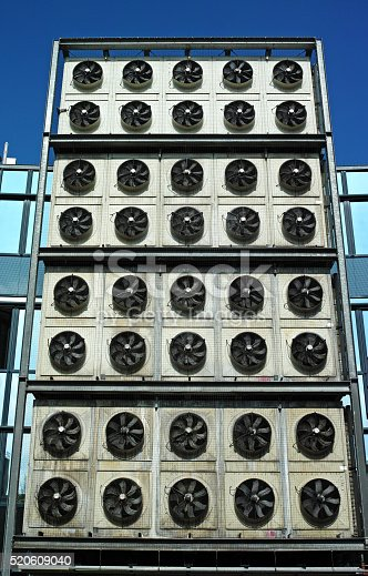 istock Industrial air conditioning 520609040