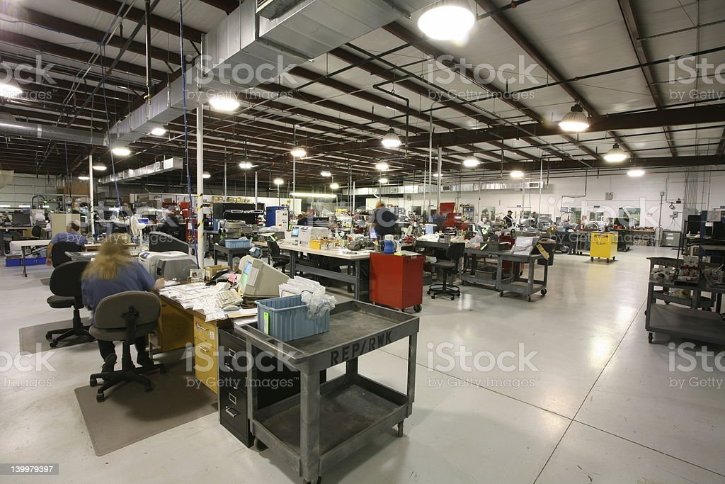 Industrial area royalty-free stock photo