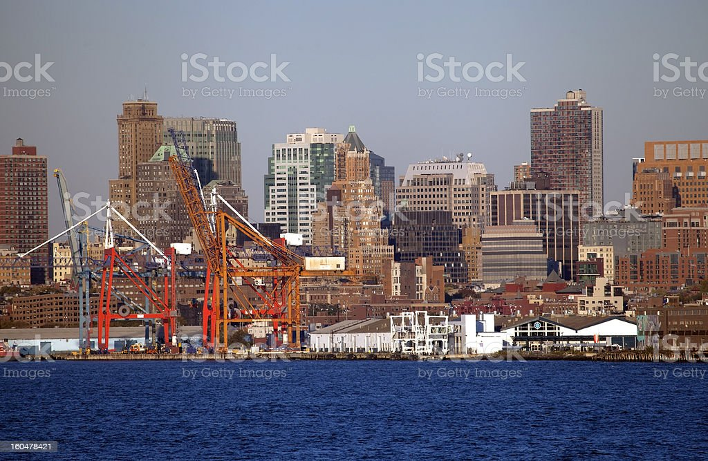 Industrial area. royalty-free stock photo