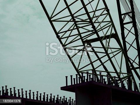 istock Industrial background 1323341376