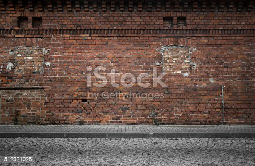 Empty grunge urban background