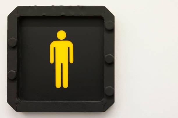 Cadastre-banho industrial - homens - foto de acervo