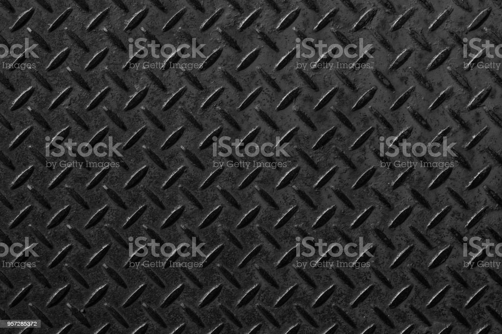 Industrial black metallic pattern and background seamless stock photo
