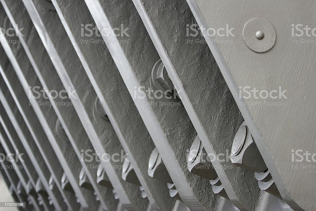 Industrial bolts royalty-free stock photo