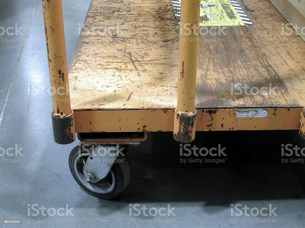 Industrial Cart royalty-free stock photo