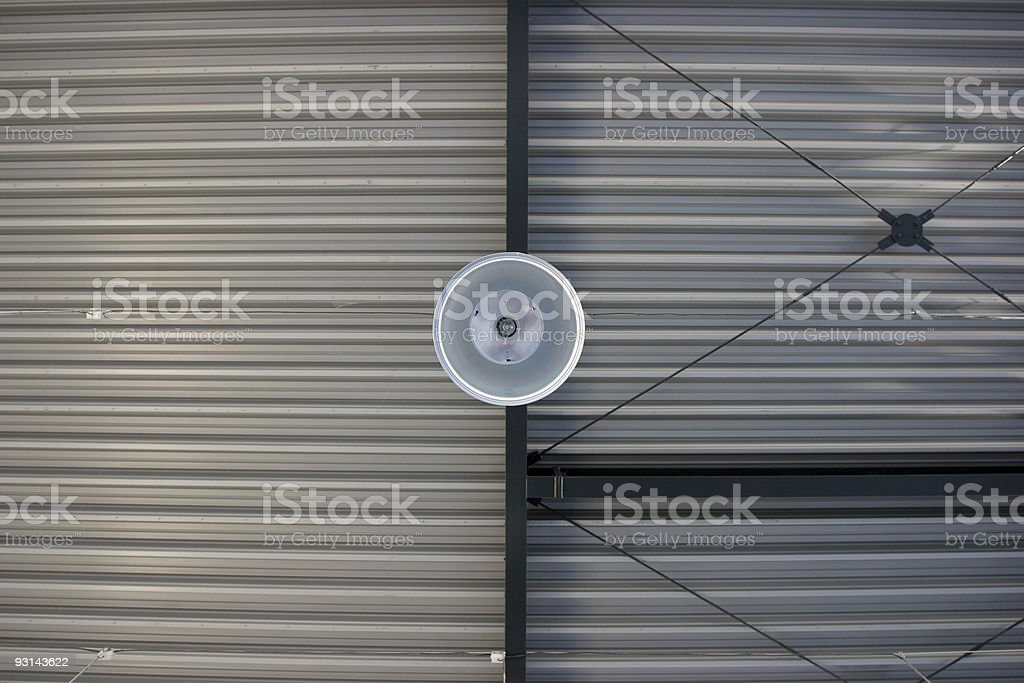 Industrial ceiling detail royalty-free stock photo