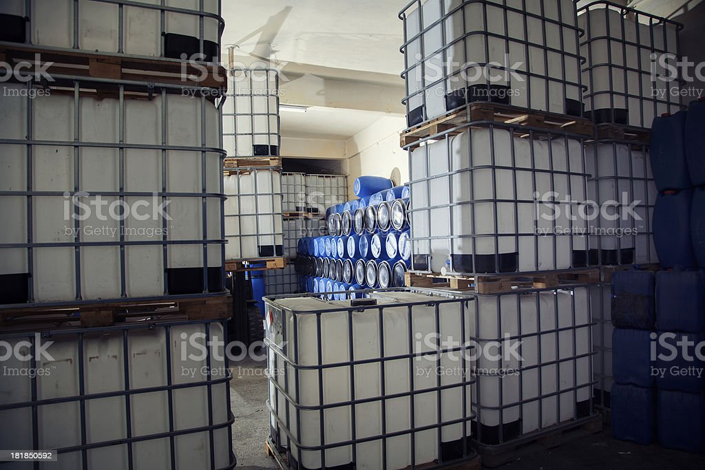 Industrial Chemical Product stock photo