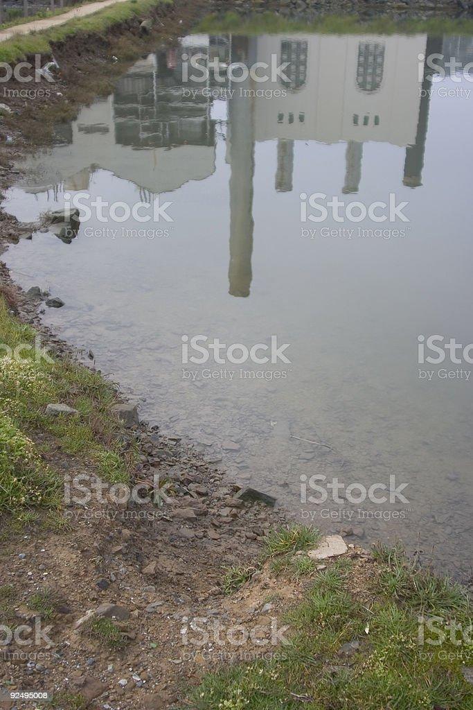 Industrial Küste Lizenzfreies stock-foto
