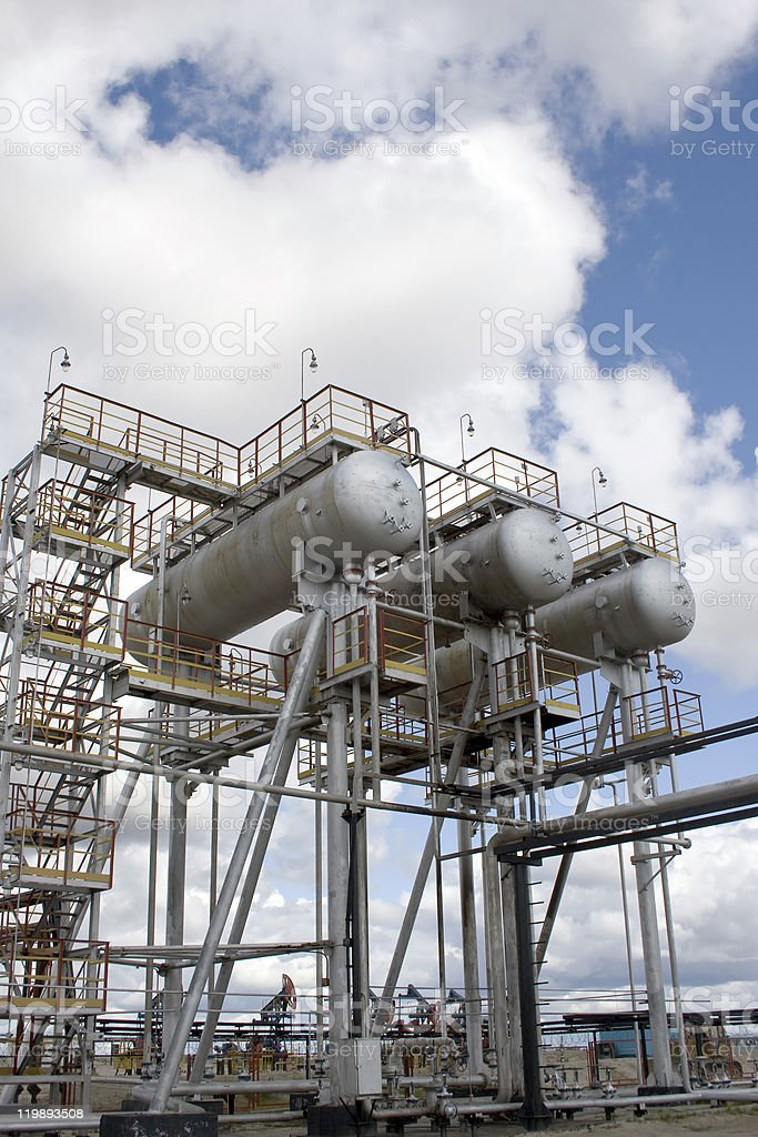 Industrial construction royalty-free stock photo
