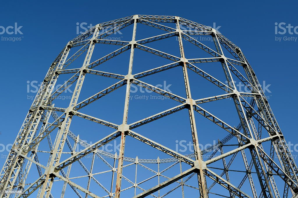 Industrial construction stock photo
