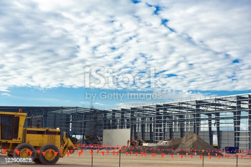 istock Industrial construction site 123906828