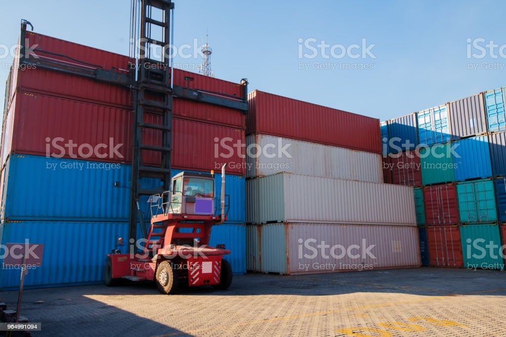 Industrial Container Yard For Logistic Import Export