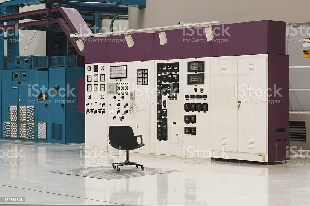 Industrial Control Center royalty-free stock photo