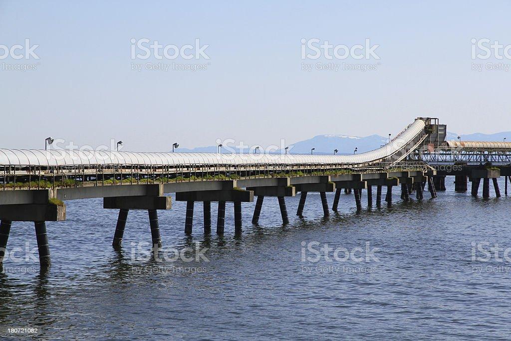 Industrial Conveyor stock photo