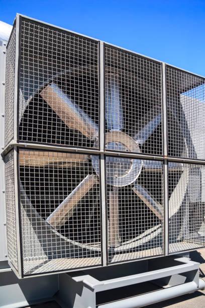 Industrial cooler stock photo