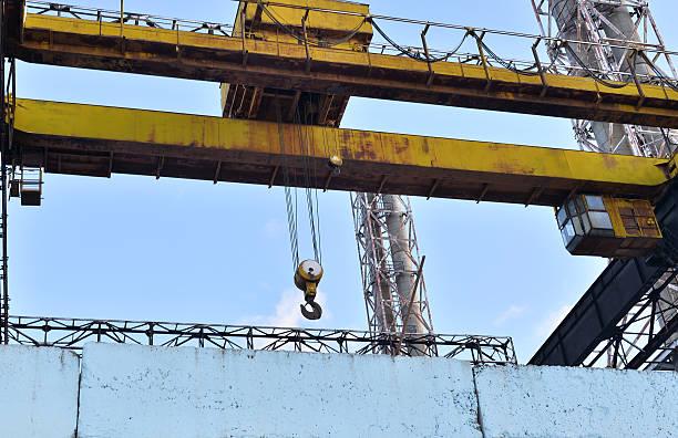 Industrial design Insulator Plant stock photo