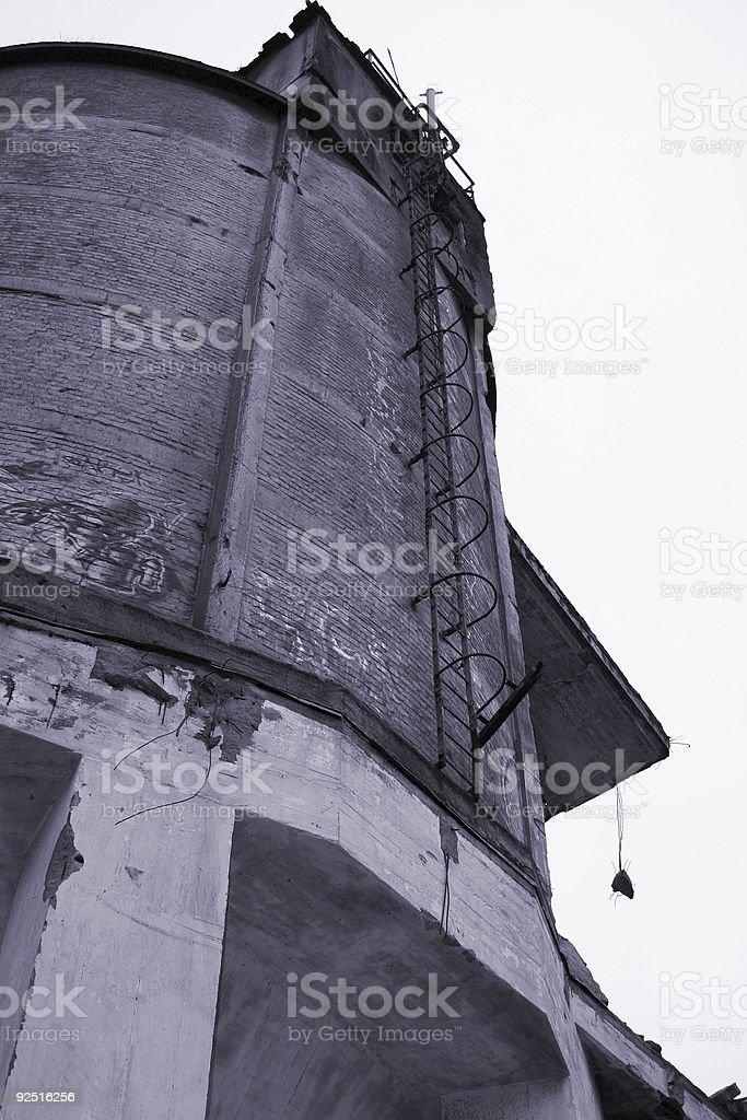 Industrial desolation #4 royalty-free stock photo