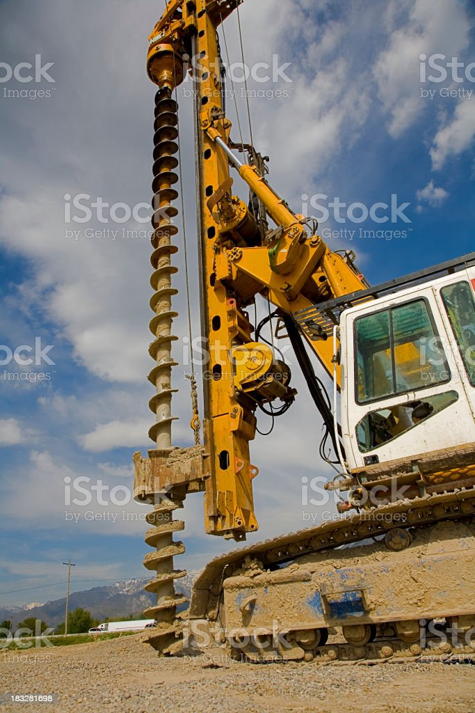 Industrial Drilling Rig. stock photo