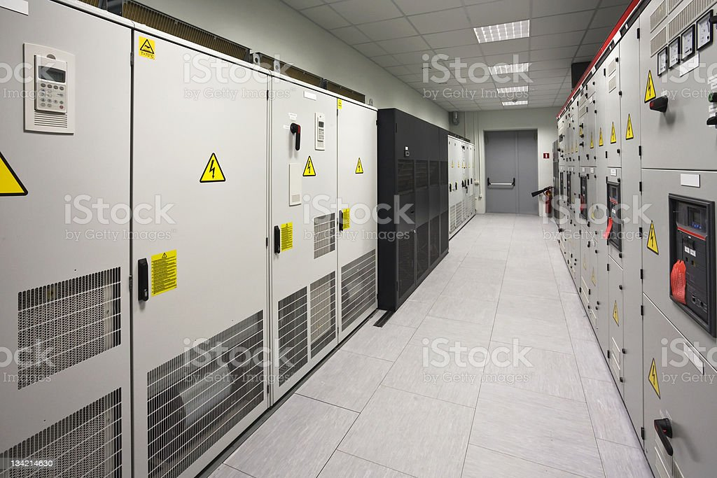 industrial electrical switch panel royalty-free stock photo