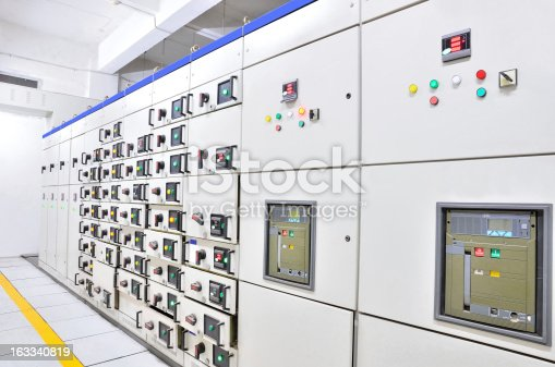 Electrical switchgear of motor central control room