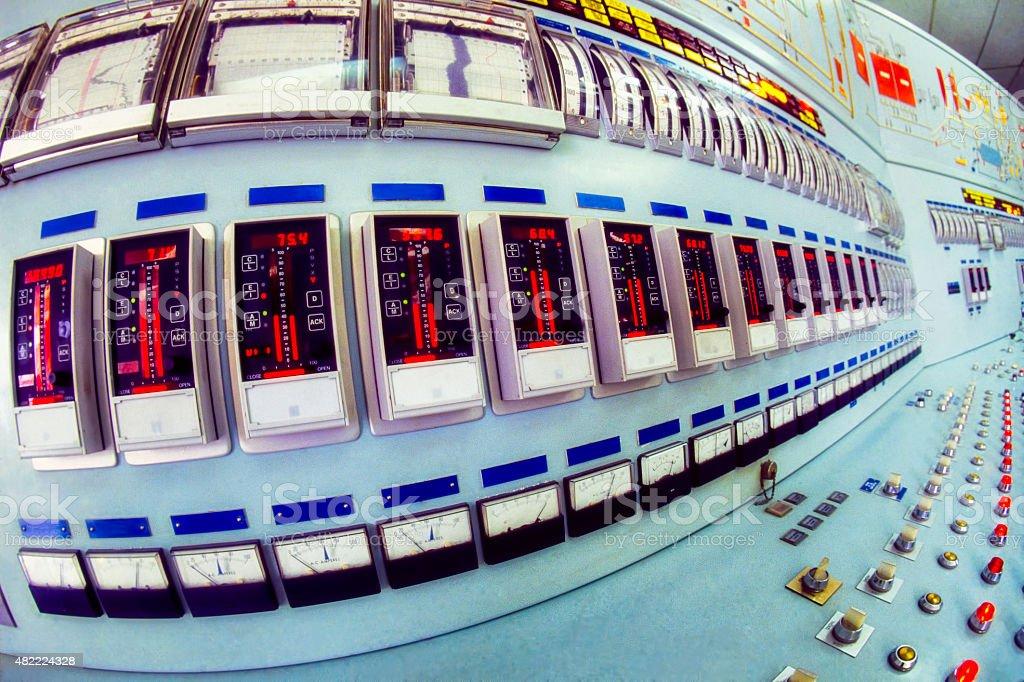 Industrial elektrischer Schalter – Foto