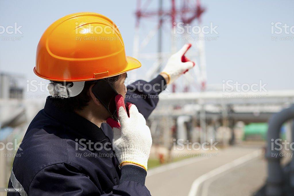 Industrial engineer royalty-free stock photo