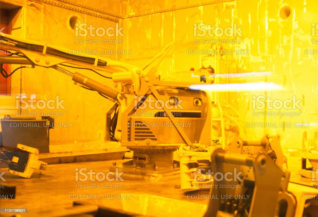Industrial equipment at Chernobyl Nuclear Power Plant. Nuclear...