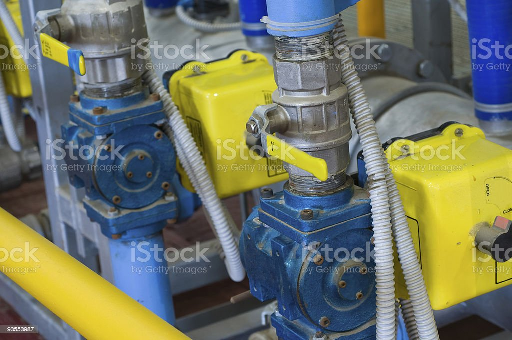 Industrial equipment factory. royalty-free stock photo