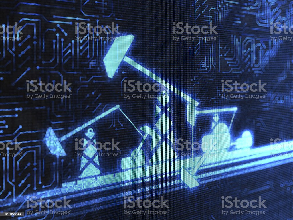 Industrial Equipment royalty-free stock photo