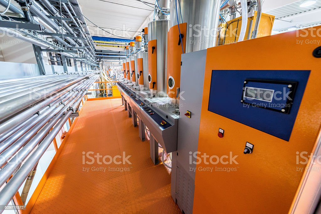 Industrial equipment stock photo