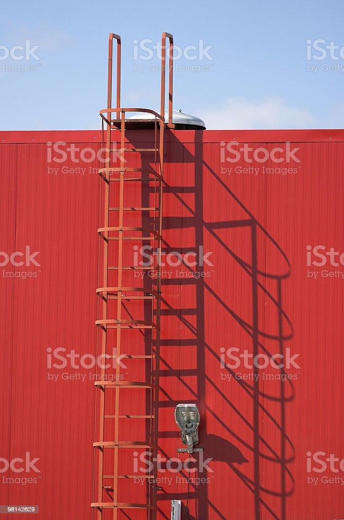 industrial facade royalty-free stock photo