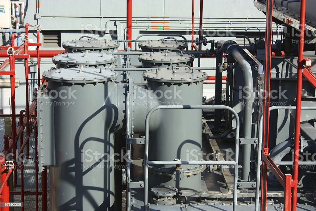 industrial facility royalty-free stock photo