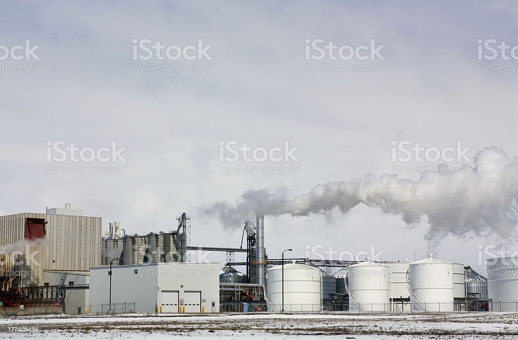 Industrial Factory royalty-free stock photo