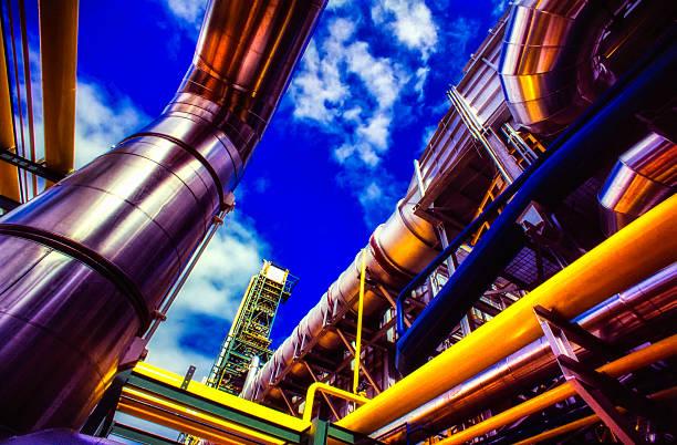 Industrielle Fabrik – Foto